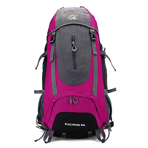 Wasserdichte im Freien Bergsteigen Taschen 60L Rucksack Last 2