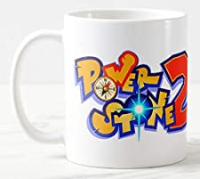 Power Stone 2 Mug, 11 oz Large Handle Ceramic Tea/Coffee Mug