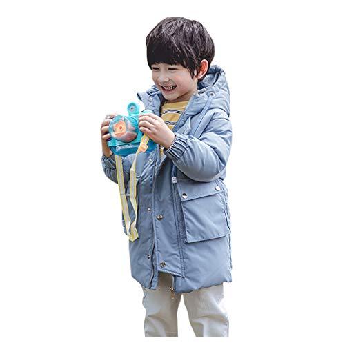 LEXUPE Prämie Reine Baumwolle Set Kleidung, Neugeborenes Baby Strampler Star Kleidung Sets, Hosen Tops Hut Cute Jumpsuit Outfit Body(Blau,120)