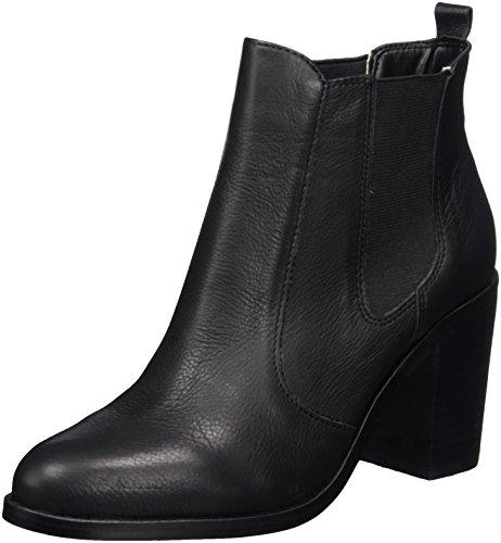 Buffalo London Damen 416-7044 Indios Leather Chelsea Boots, Schwarz (Black 01), 41 EU (Buffalo Leder)