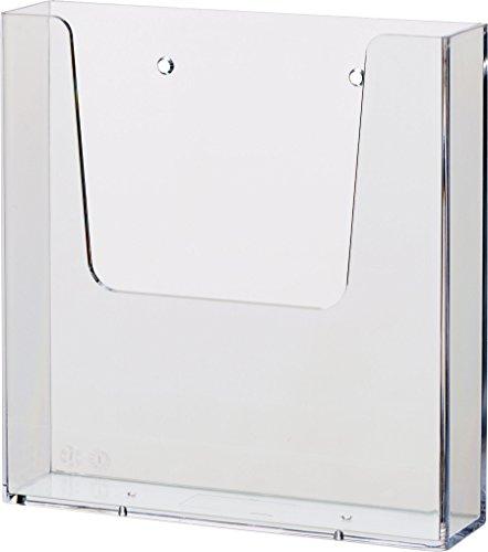 Helit H2350102 - Wandprospekthalter the help wall DIN A5, glasklar