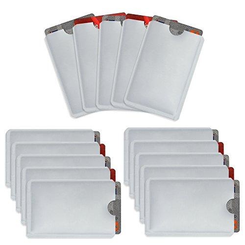 Owfeel Pack 15 Bloqueo RFID Secure Credit Card Holder