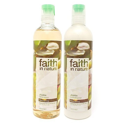 Shampooing et après-shampooing Faith in Nature au jojoba