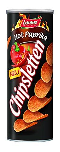 Lorenz Snack World Chipsletten Hot Paprika, 15er Pack (15 x 170 g)