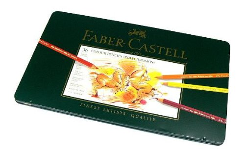 RCECHO® Faber Castell Farbstifte Polychromos Tin Box 36 110036 PB396 174; Vollversion Apps Ausgabe