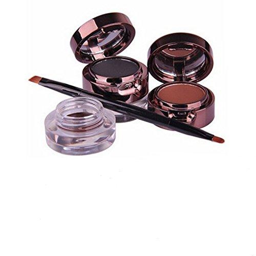 tinabless-4-en-1-make-up-impermeable-gel-eyeliners-et-sourcil-poudre-palette-noir-et-brun-avec-pince