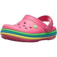 Crocs Baby Girls' Cb Rainbow Band Clog K
