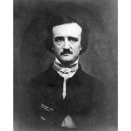 DS Decor Fotodruck Edgar Allan Poe, 1848.