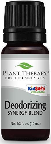Deodorizing Synergy Essential Oil 10 ml (1/3 oz). 100{2c8c754ef530cc408220f13c2b5f31a1d34958e137bf0e54eaf5af0168644f64} Pure, Undiluted, Therapeutic Grade (Blend of: Bergamot, Cypress, Lavender, Juniper, Tea Tree, Grapefruit, Patchouli and Lemon) by Plant Therapy Essential Oils