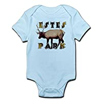CafePress - Estes Park , Colorado Elk - Cute Infant Bodysuit Baby Romper