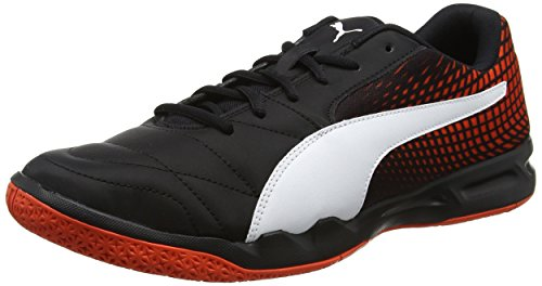 Puma Veloz Indoor Ng, Chaussures de Fitness Mixte Adulte Noir (Black-white-cherry Tomato)