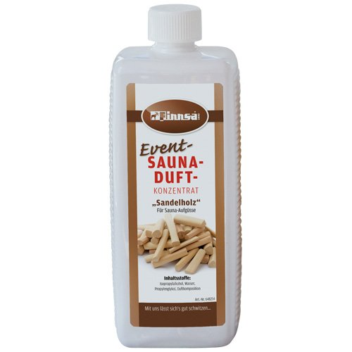 Event-Saunaduft Duftkonzentrat 1l Sandelholz | sehr ergiebig