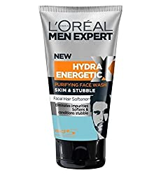 LOreal Paris Men Expert Skin & Stubble Purifying Face Wash 150ml.