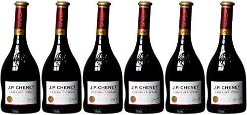 JP Chenet Cabernet Syrah Cuvée 2014/2015 Trocken (6 x 0.75 l)
