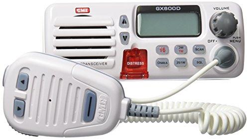 Radio Marina VHF GX600D con DSC color blanco #8480 Dsc Marine Radio