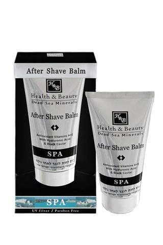 H&B Dead Sea After Shave Balm with Hyaluronic Acid & Black Caviar 150ml