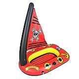 starter Piratenboot-Swimmingpool-Hin- Und Herbewegung, Aufblasbares Piratenschiff-Wasser-Spielzeug...