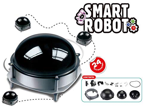 Popsugar Smart Robot Educational DIY Science Kit for Kids | Build Your own Smart Robot and Watch it Move Around The House, Multicolor