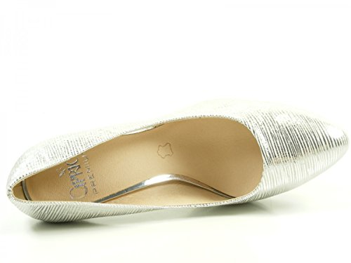 Caprice Damen 22414 Pumps Silber