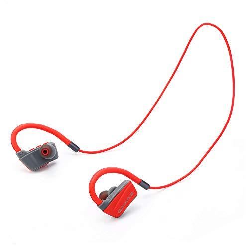 MINGXINGDE Sport Handfree Noise Cancelling Ohrhörer Jogging-Ohrhörer In-Ear-Stereo-Kopfhörer Kopfhörer Sweatproof Wireless Bluetooth Headset