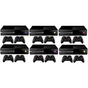 DesFoli Xbox One Aufkleber Skin LED Sticker