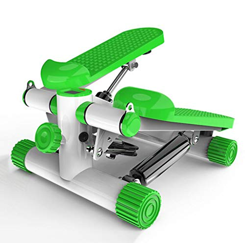WXX Twister Stepper Step-Hydraulic Mute Pedal Multifunktions-Indoor-Sportpedal, Widerstandsband und LCD-Display, brennende Kalorien als Fitness-Bike Fitness
