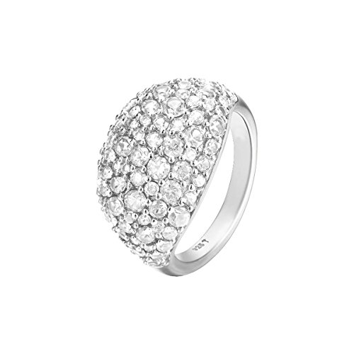 Joop! Damen-Ring JP-Blake 925 Silber Zirkonia weiß Gr. 55 (17.5) - JPRG90780A550