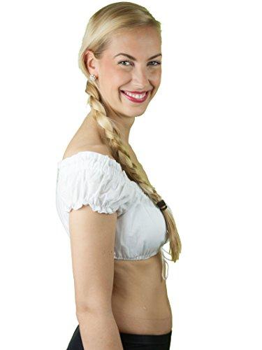 Marjo Dirndlbluse Tini Weiß