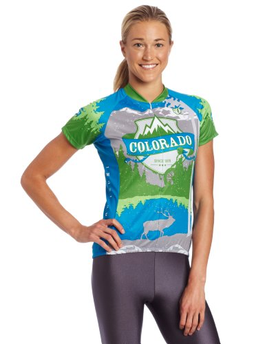Pearl Izumi Damen Select LTD Short Sleeve Jersey, damen, Colorado State