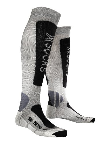 X-SOCKS - Ski Metal, color silver , talla EU 42-44