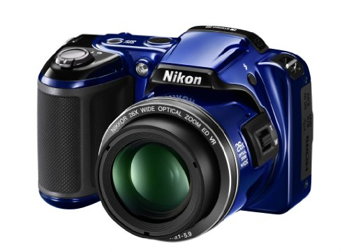 Nikon Coolpix L810 Digitalkamera (16 Megapixel, 26-Fach Opt. Zoom, 7,5 cm (3 Zoll) Display, bildstabilisiert) blau Nikon Digital-tv