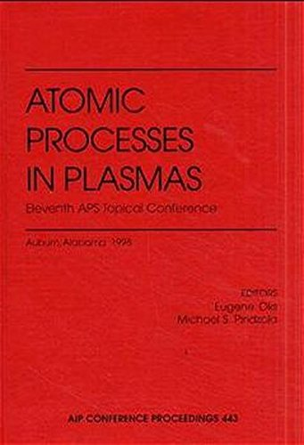 Atomic Processes in Plasmas: Eleventh APS Topical Conference: Auburn, Alabama, March 23-26, 1998 (AIP Conference Proceedings / Atomic Processes in Plasmas) Alabama Laser
