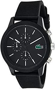 Lacoste Mens Lacoste.12.12 Water Resistant Multi-Function Watch