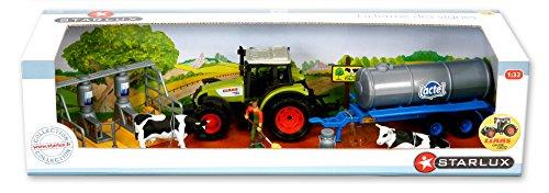 Starluxx-Coffret die behandelt-Traktor Claas-Regentonne Lactel-1: 32E -