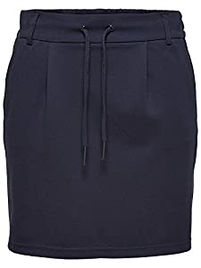 ONLY Damen Onlpoptrash Easy Skirt PNT Noos Rock