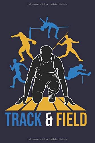 Leichtathletik Notizbuch: Ein cooles Büchlein für Leichtathleten