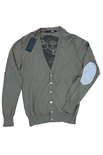 +39 Masq Cardigan Uomo Verde Size S