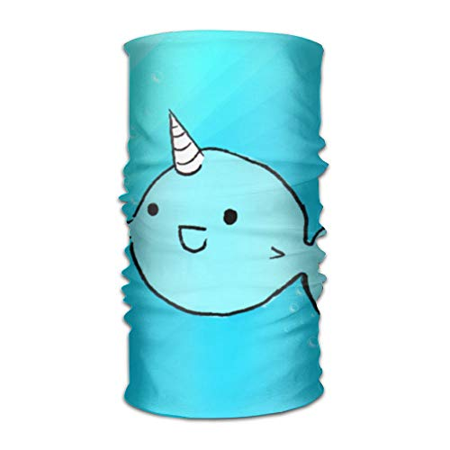 Pengyong Schal mit blauem Ozean und Smile-Schal, Unisex, schnelltrocknend, Mikrofaser Kopfschmuck für den Außenbereich, Magischer Schal, Halstuch mit Kapuze und super weichem Griff - Adidas Sportliche Wrap
