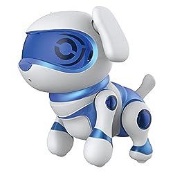 Teksta Newborn 30643P - Roboter Haustier, Hundewelpe, blau