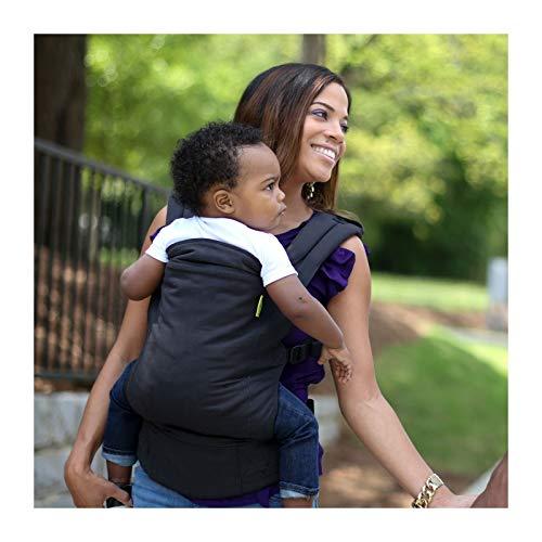 Boba BC4 – Komfortbabytrage mit Fußstützen für große Kinder, Bauch- und Rückentrage