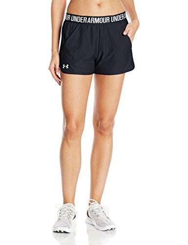 Under Armour Damen Play Up Shorts 2.0 Kurze Hose, Black, MD