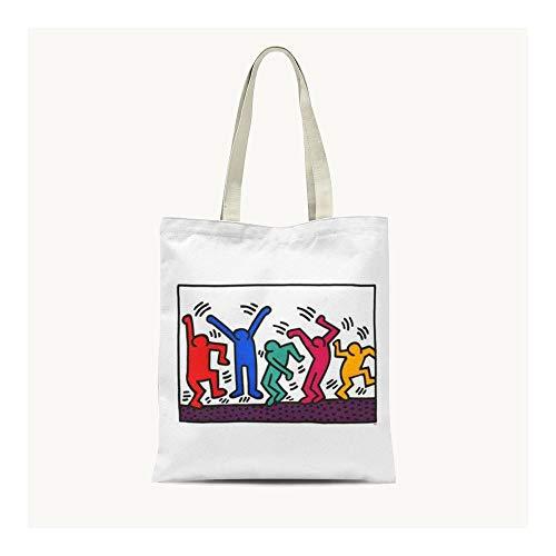 25df8f801d ZXXFR Moda Illustrazione Graffiti, Mano Sail Bag Arte Minimalista Borsa A  Tracolla per Tempo Libero