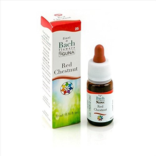 Guna Fiori di Bach Red Chestnut - 10 ml