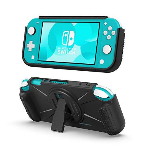 TiMOVO Custodia Console Custodia Protettiva Nintendo Switch Lite TPU con 2 Scompati Giochi Impugnatura ergonomica Antisudore Accessori Nintendo