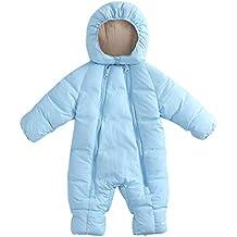 Proumy - Abrigo cálido de Invierno con Capucha, Chaqueta de Invierno para niños, Abrigo de plumón, Abrigo de Invierno para bebé, Abrigo de Invierno Grueso