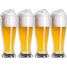 Jarra de Cerveza de Cristal sin Plomo, Jarra de Cerveza Creativa Engrosada | Cervezas clásicas