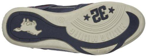 Mustang  Schnürhalbschuh, chaussures basses à lacets homme Bleu - Blau (dunkelblau 800)