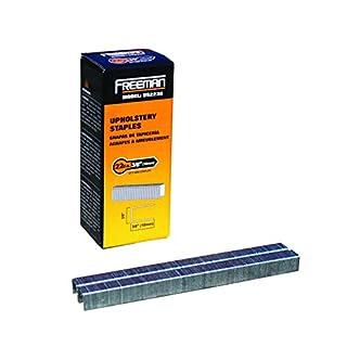 Freeman Pneumatics US2238 22 Gauge Staples Box, 3/8