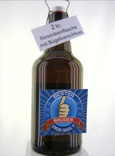Riesenbierflasche XXL-Bierflasche Bruder