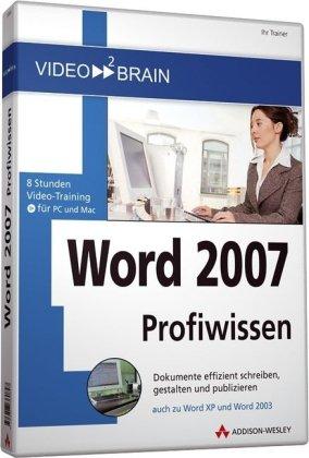 Word 2007 Profiwissen - Videotraining